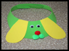 Dog   Craft Foam Visor