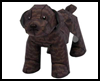 Yorkshire   Terrier Papercraft + Chocolate Toy Poodle (Dogs)