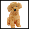 Cute   Poodle Dog Paper Craft