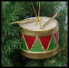 Drum   Christmas Ornament