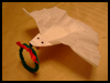 Coffee Filters Dove Christmas Craft for Children