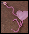 Flamingo   heart Valentine