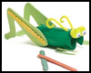 grasshopper cricket crafts for kids ideas to make