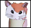 Hamster   Toilet Paper Roll Craft for Toddlers & Preschoolers