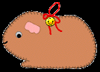 Felt   Hamster Ornaments Craft for Kids