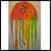 Crepe   Paper Jelly Fish Craft for Youngsters