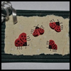 How   to make a paper lady bug with a 3-D effect