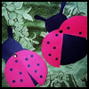 How   to make Paper Ladybugs Kids Craft