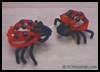 Pipe   Cleaner Bugs: Ladybug Instructions