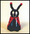 Clay   Pot Ladybug Craft