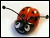 How   to make a ladybug out of gum paste
