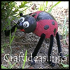 Styrofoam   Lady Bug