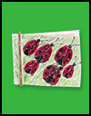 Book   on a Stick : Ladybug Book Making Instructions