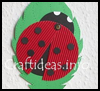 Lady   Bug Wall or Window Decoration