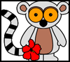 Lemur   Paper Crafts Activity