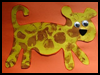 Leopard             Craft Activity for Youngsters