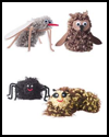 Fuzzy   Critter Crafts for Kids to Make