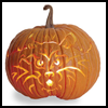 Panther   Pumpkin Carving Pattern