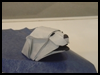 Origami   Polar Bear Folding Instructions