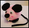 Plastic   Egg Mouse Crafts
