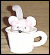Mouse   in a Cup Craft