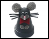 Clay   Pot Rat that is Easy to Make