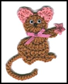 Crochet   Mouse Magnet to Make