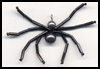 Beaded   Spider Crafts Project for Children