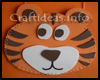 Fun   Foam Tiger Pouch Craft for Kids
