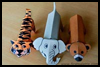 Folding   Paper Zoo Animals Arts and Crafts Activity