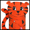 Tiger Crafts for Kids: Ideas to make tigers with easy arts