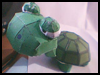 Lazy   Turtle Paper Craft