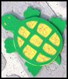 Beady   Foam Turtle Arts & Crafts Project for Children