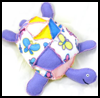 Plushie   - Patchwork Turtle