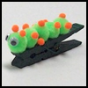 Inch   Worm Clip Clip Craft