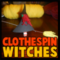 Clothespin Witches