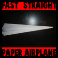 Folding Straight Paper Airplanes
