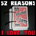 52 Reasons I Love You Valentines Day Gift