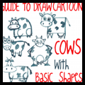 Guide to drawing cartoon cows