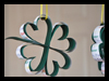 DIY : Hanging Four Leaf Clover