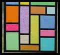 Mod Podge Faux Stained Glass