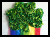 Rainbow Shamrocks Decoration