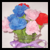 Party Streamer Flowers Craft