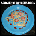 Spaghettie Octopus Squid Hot Dogs