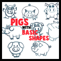 Guide to Drawing Cartoon Pigs