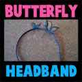 Making Butterfly Headbands