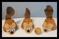 Nutty Squirrel Craft and Game to Play