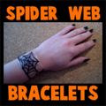 Making Spider Web Bracelets