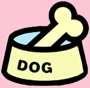 dog and cat food dishes