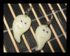 Make Ghost Earrings for Halloween